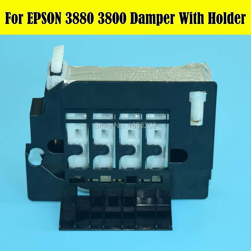 NEW HOT!!! 1 Set 3800 3880 Damper For EPSON 3800 3880 3800C 3850 3890 Printer Ink Damper high quality ink damper for epson 10000 106000 printer ink damper