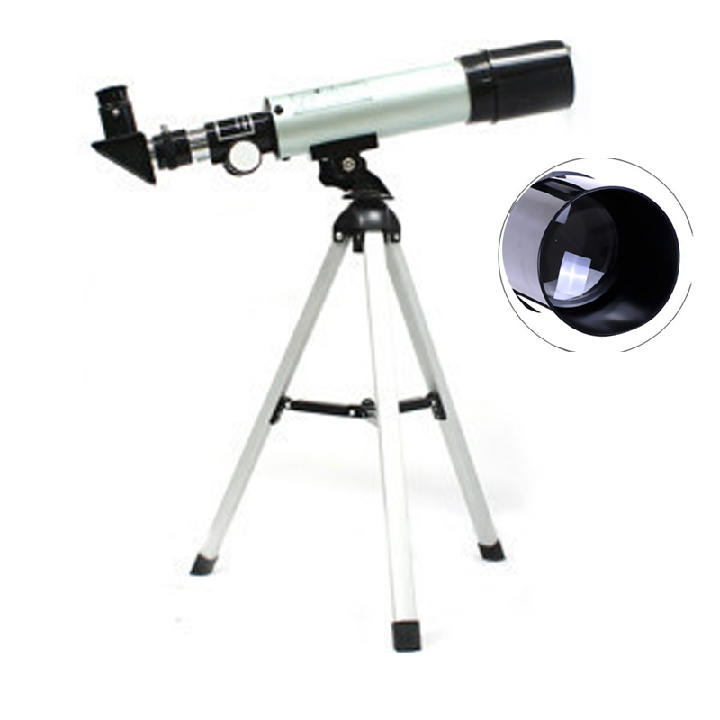 Outdoor HD Refractive Astronomical Telescope with Portable Tripod Spotting Scope Monocular Astronomical Telescopes binoculars bosma 80 900 astronomical telescope monocular equatorial refractive fully coated telescope with portable tripod w2358b