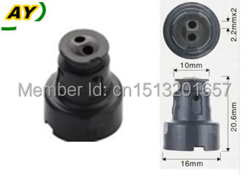 100pieces wholesale Fuel injector pintle cap plastic parts for 23250 50030 repair kit for LEXUS AY