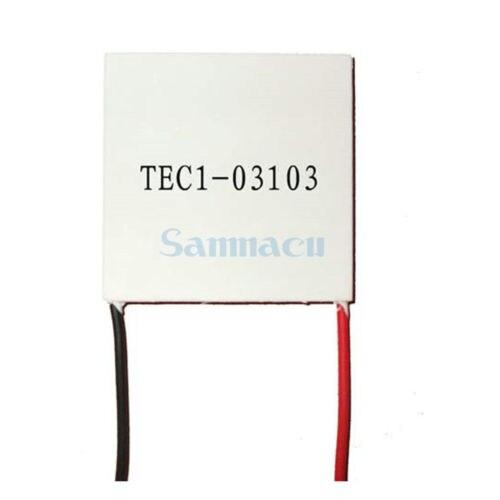 20x20x4.4mm 3.9A 3.66V 7.2W TEC1-03103 Thermoelectric Cooler Peltier Heatsink 20x20x4.4mm 3.9A 3.66V 7.2W TEC1-03103 Thermoelectric Cooler Peltier Heatsink