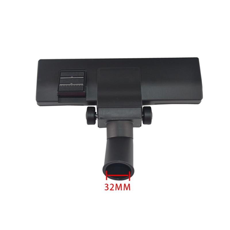 Universal Inner Diameter 32mm brush head vacuum cleaner floor brush suction nozzle with two wheels for QW12T-605 QW12T-602 etc