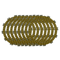 Motorcycle Clutch Friction Plates Set for HONDA CRF450R CRF450 R 2002 2010 Clutch Lining #CP 00037