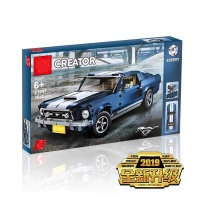 DHL LP 21047 Creator Expert Ford Mustang legoing creator expert 10265 Set Building Blocks Brick Assembled high tech toys car