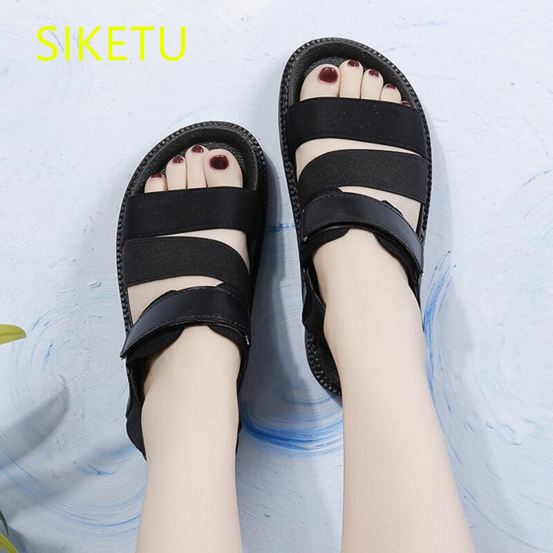 SIKETU Free shipping Summer sandals Fashion casual shoes sex women shoes flip flop Flat shoes l144 flip flop Non-slip Wild women shoes 2018 summer breathable fashion lady s casual shoes lace up girls handmade women woven shoes flip flop footwear 599w