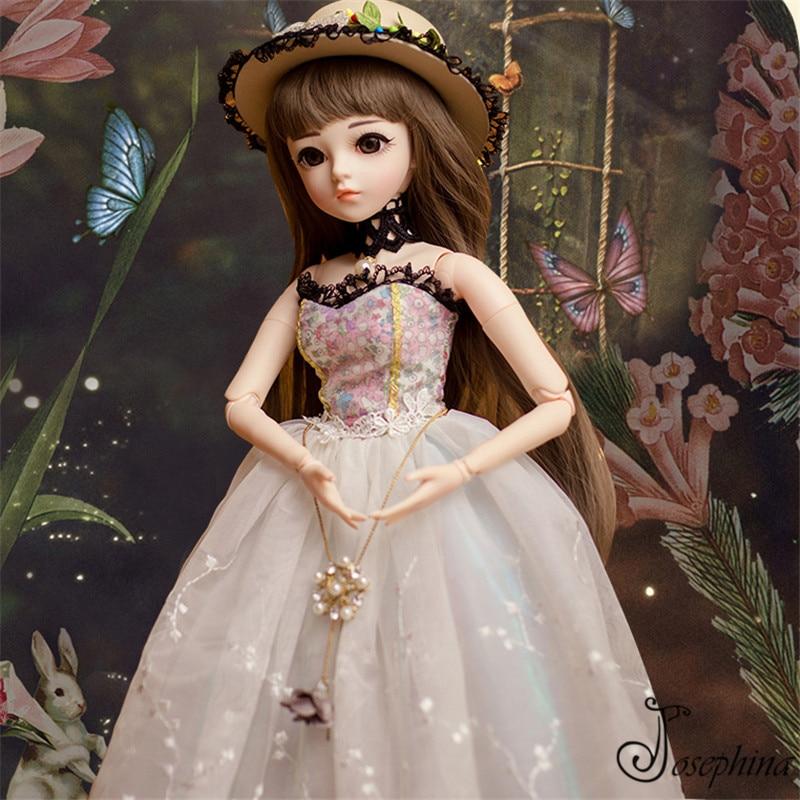 S8 -- Gurnier 1/3 60 cm josephina-doris BJD poupées livraison gratuite la république de chine époque jeune fille habillée résine réaliste poupée