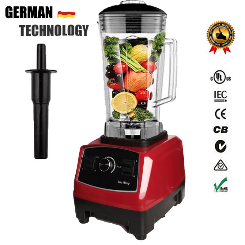 2200 watt BPA FREI 3HP 2L Heavy Duty Kommerziellen Mixer Professional Power Blender Mixer Entsafter Küchenmaschine Japan Klinge