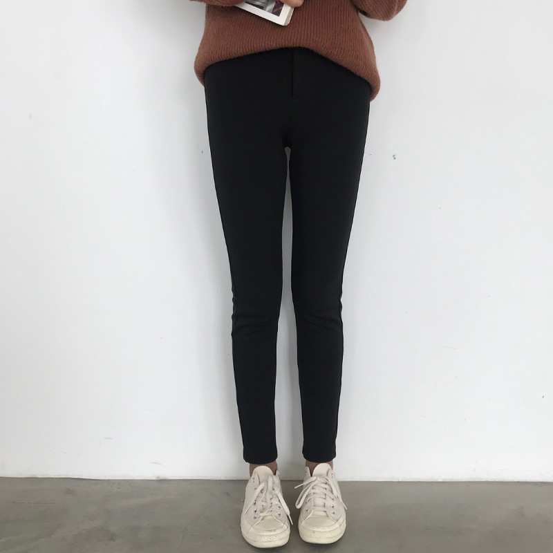 Womens High Waisted Leggings Super Soft Full Length Opaque Slim