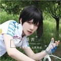 Free shipping Yowamushi Pedal Arakita Yasutomo / Haikyuu!! Kageyama Tobio Short Black Cosplay Full Lace Wig + Free Wig Cap