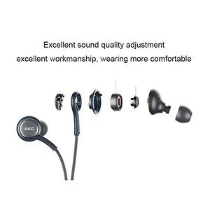 Image 2 - Samsung AKG écouteurs IG955 vente en gros 5 10 20 50 pièces 3.5mm dans loreille avec micro fil casque pour Galaxy samsung S10 s9 S8 S7 S6 S5