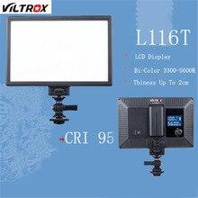 Viltrox Mini LED Video Light Photo Lighting on Camera Hotshoe Dimmable LED Lamp for Canon Nikon Sony Camcorder DV DSLR Youtube
