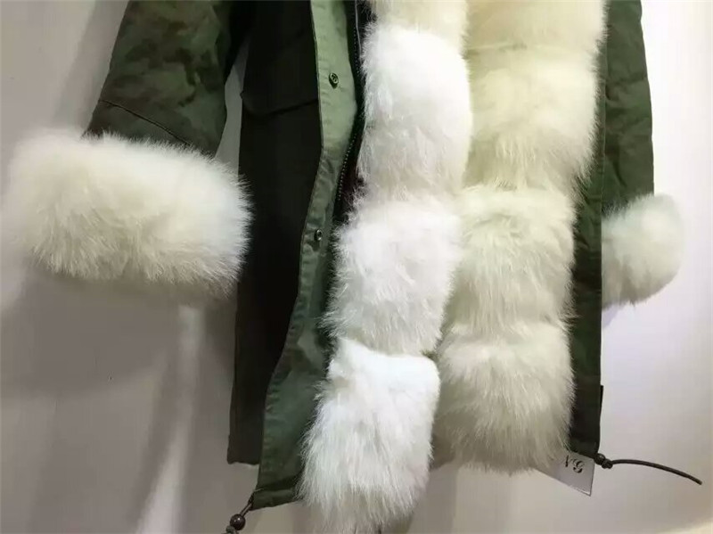 Özelleştirilmiş yeni stil kış kalın sıcak kürk - Bayan Giyimi - Fotoğraf 2