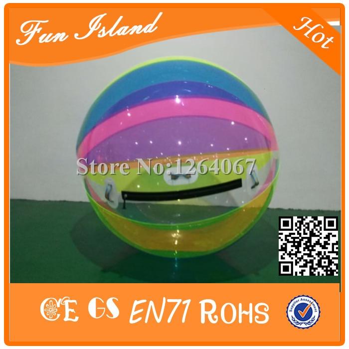 Livraison Gratuite 2 m TPU Parfait Fabriqués En Usine Gonflable Jouets de L'eau Gonflable Marche de L'eau Boule Pour Piscine