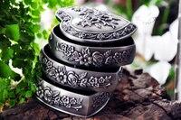 3-слойная форме сердца оловянного сплава металла классическая Европейская Готическая Принцесса Медея ювелирные изделия сувениры сувенирн...