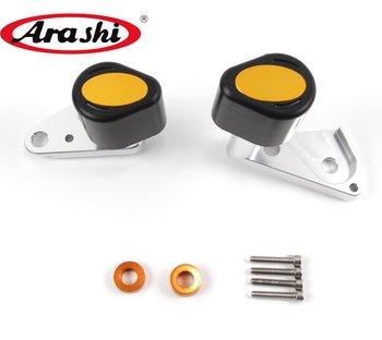 Arashi For HONDA CBR600RR 2007-2011 CNC Engine Protector Slider CBR600 RR CBR 600 RR 2007 2008 2009 2010 2011 Accessories Pads