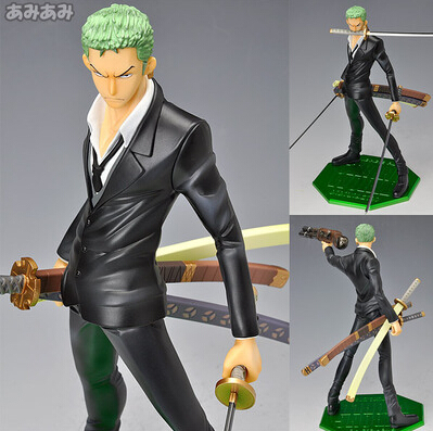 NEW hot 21cm One piece Theater Edition Roronoa Zoro cool collectors action figure toys Christmas doll
