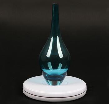 25 см Светодиодная лампа 360 градусов Электрический вращающийся поворотный стол для фотографии Максимальная нагрузка 10 кг
