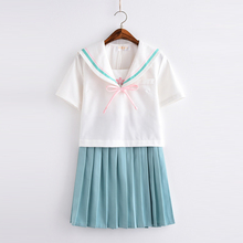 UPHYD High Quality Kawaii School Uniform JK Uniforms White College Wind Short Sleeve Japanese Girls Summer Sailor Suit