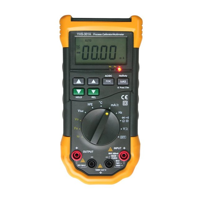 YHS-301A  Multifunction Signal Loop Process Calibrator Meter With Multimeter
