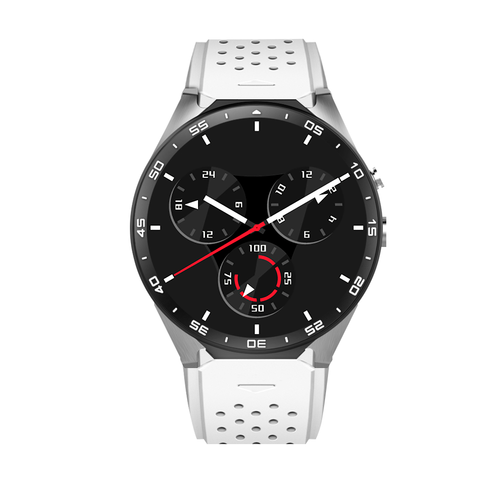 kw88 Android 5.1 Smart Watch 512MB + 4GB Bluetooth 4.0 WIFI 3G Smartwatchmtk6580 SmartWatch phone support 3G wifi nano SIM WCDMA цена