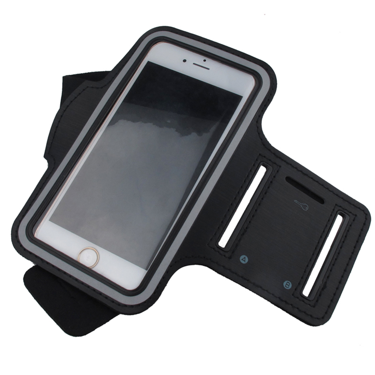 Waterproof Sports Running Armband Band Phone For Iphone Xiaomi Redmi 4x Note 5a 5 Inches Below Devices Sports Belt Pouch Bags Lustrous Surface Armbands