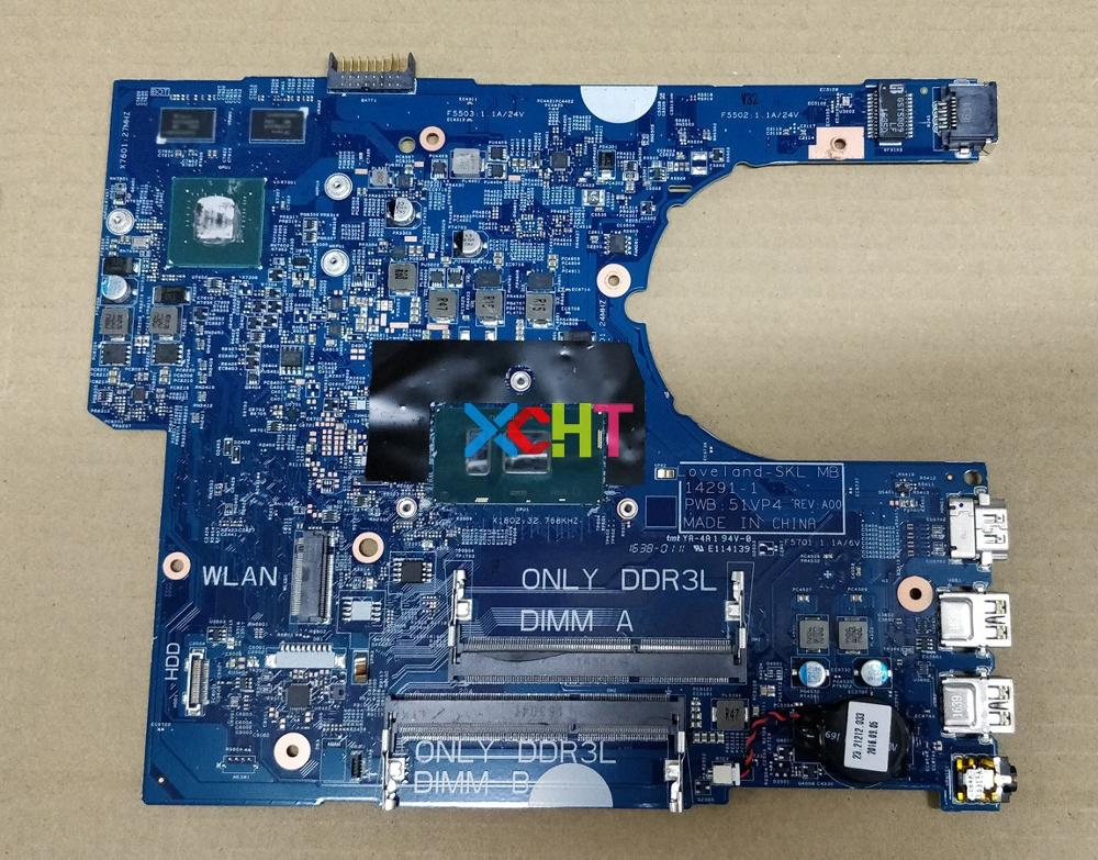 For Dell Latitude 3470 0KCD9 00KCD9 CN 00KCD9 14291 1 51VP4 I7 6500U N16V GM B1 920M Laptop Motherboard Mainboard Tested