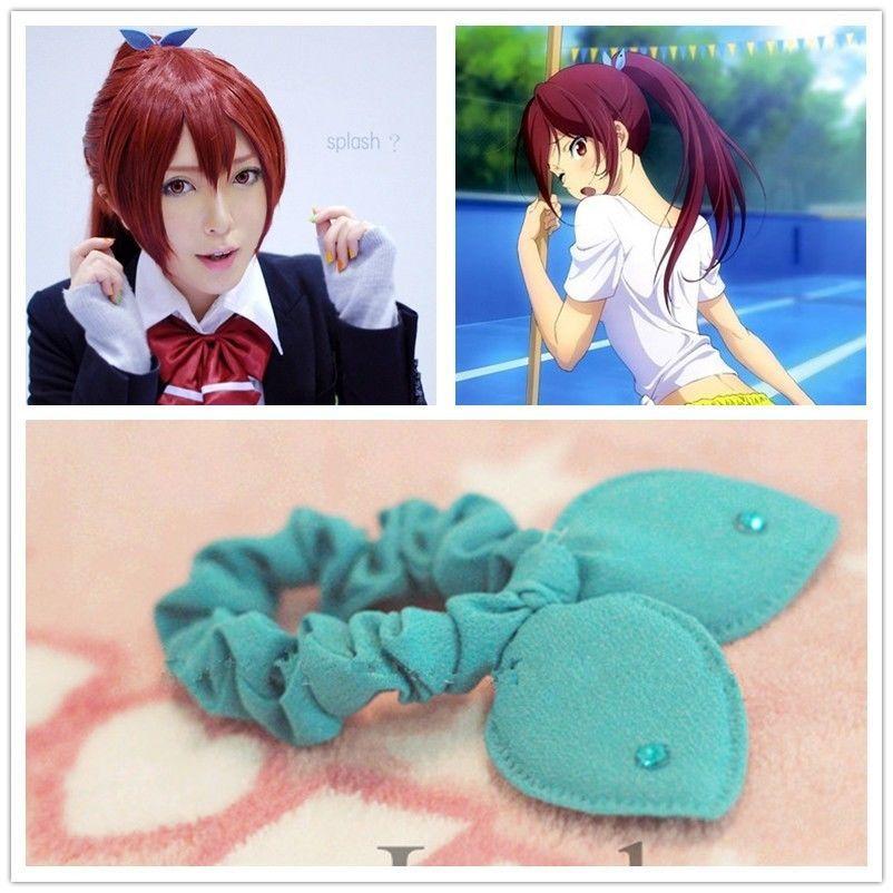 Iwatobi Swim Club Go Matsuoka Cosplay Cute Hair Band Ribbon In Accessories From Women S Clothing On Aliexpress Alibaba Group