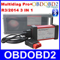 Trabajos de alta Calidad Del Coche/Camiones Multidiag Pro + Últimas R3/2014 Versión Misma Función que CDP TCS Apoya Bluetooth + Tarjeta de 4 GB