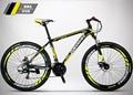 Eurobike 21 velocidade da bicicleta 26*17 polegadas mtb freio a disco frame da liga de mountain bike 26 polegada bicicleta sem dobrar bicicleta 160-185 cm
