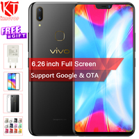 Оригинальный VIVO Y85 мобильный телефон 6,26 дюймов полный Экран 4G B Оперативная память 6 4G B Встроенная память Восьмиядерный лицо Wake 2280*1080 P двойно