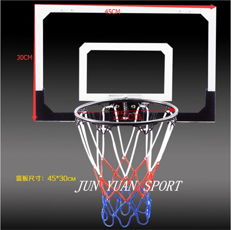 High quality!Mini Transparent Basketball Net Game Hoop Ring With Ball Basket Fun Indoor Toy Gift