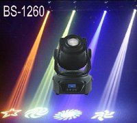 2pcs/Lot,Led Spot Lights 60W White Lamp Moving Head Spot Led Lights DMX/Sound/Auto/Master slave