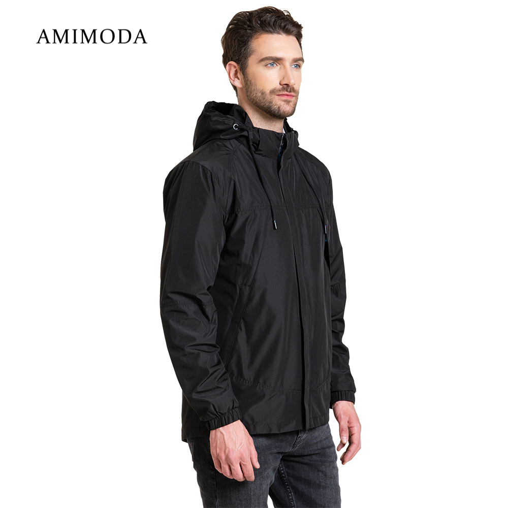 Jackets Amimoda 10026-01 Men\'s Clothing windbreakers for men cloak jacket coat parkas hooded jackets amimoda 10013 0208 men s clothing windbreakers for men cloak jacket coat parkas hooded