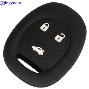 Image 2 - jingyuqin 3B Remote Car Key Silicone Cover Case For Saab 9 3 9 5 1999   2009 Holder Styling