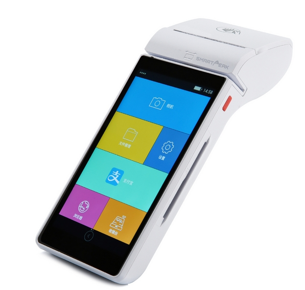 Handheld Android Pos Terminal Wireless Android Rfid Smart Card Magnetic Stripe Reader