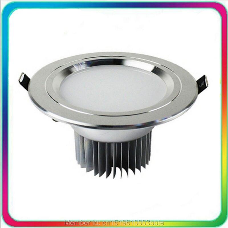 60PCS 5W 7W 12W 18W 30W COB LED lejupvērsts apgaismojums ar regulējamu LED diodes gaismu COB iegremdētā griestu spuldze