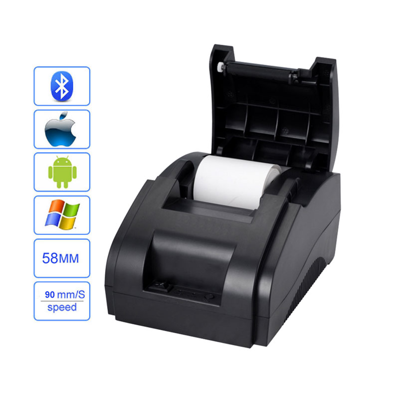 Bluetooth font b receipt b font font b printer b font 58mm pos font b printer