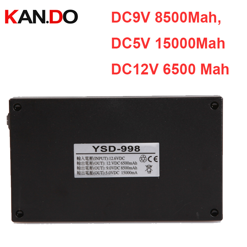 5pcs,DC12V 6500 Mah,DC9V 8500Mah,DC5V 15000Mah,CE ROHS pass lithium battery,smart power,CCTV wireless camera lithium battery