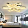 Creative Art flowers - ceiling lamps, modern LED ceiling lamp, warm - Romantic bedroom lamp, 3/6 heads Sales
