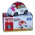 NEW hot Sonho Tomica TOMY Brinquedos figura de ação brinquedos Do Carro Hellokitty Vermelho Legal do presente de Natal boneca