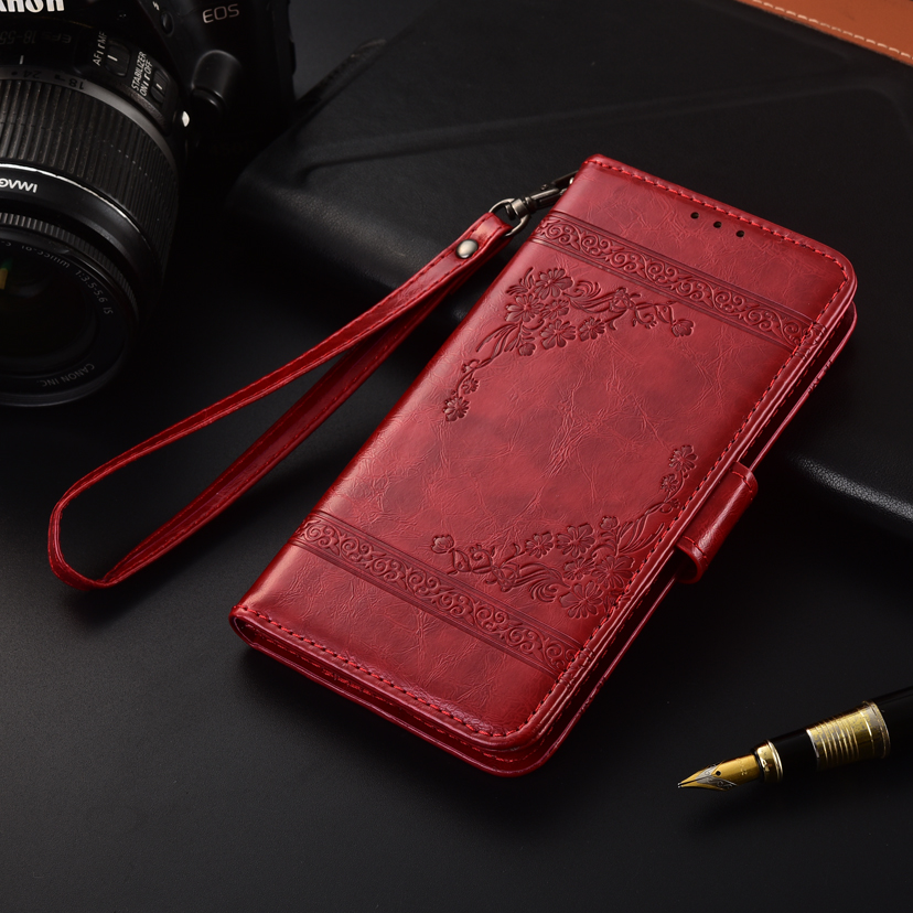 Redmi 7A Fundas Wallet Leather Case for Xiaomi Redmi 7A 5.45'' Case Redmi 7 A Card Bag Kickstand Soft TPU Cover Pakistan