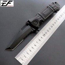 Eafengrow EF18 Plegable Cuchillo de Bolsillo Del Cuchillo de Caza de Buceo Táctico Cuchillo de La Supervivencia Al Aire Libre Herramienta EDC cuchillos