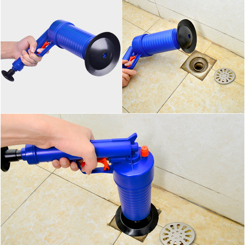 2019 Dredge Through Cleaning Sewer Tools Toilet Cleaner Anti Clogging Plugs Blocked Hair Cleanser Pneumatic Type