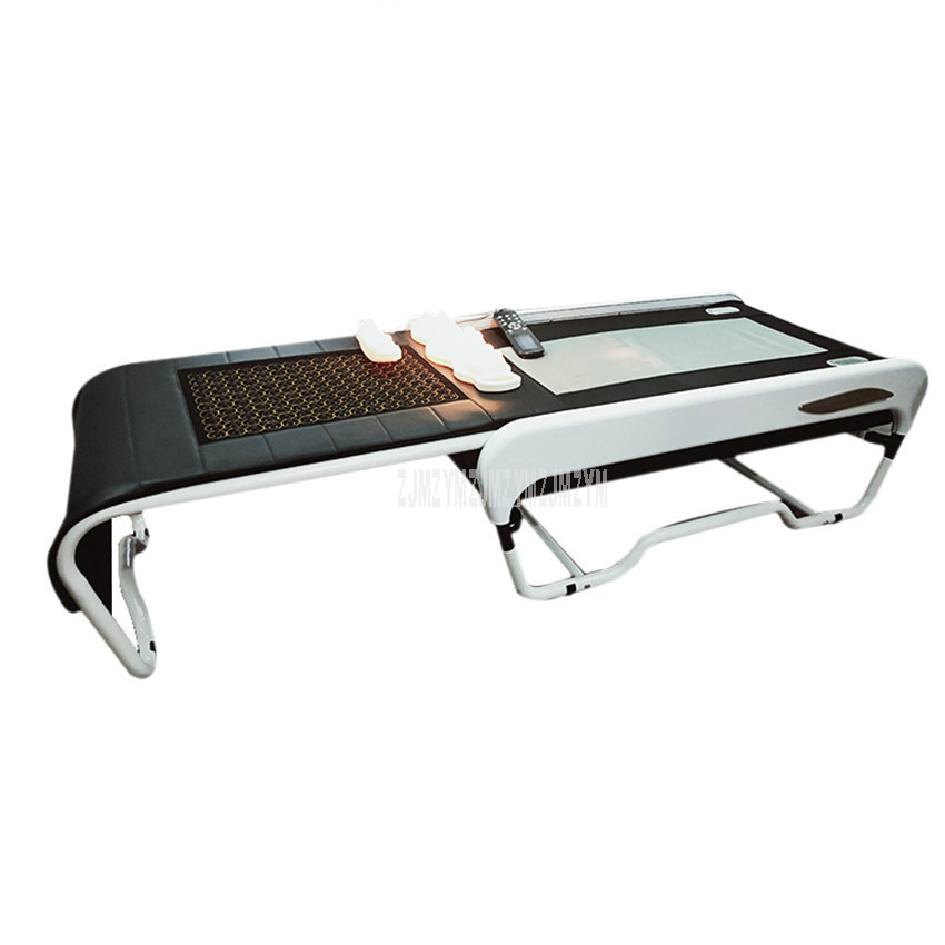 Vertebral Spine Correct Multifunctional Physical Therapy Thermotherapy Bed 13 Massage Mode 3D Whole Body Health Jade Massage Bed