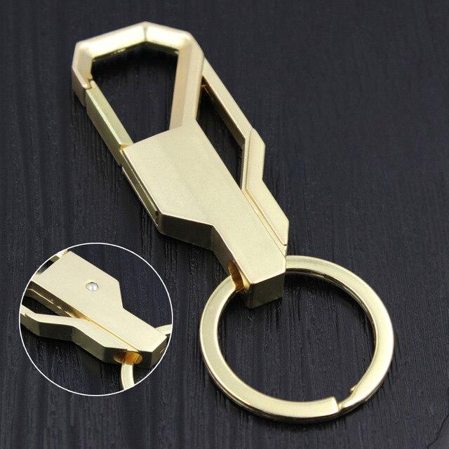 Fantaisie & fantaisie Design Cool porte-clés de luxe personnalisé en acier inoxydable métal de luxe voiture porte-clés décoration bijoux pour hommes