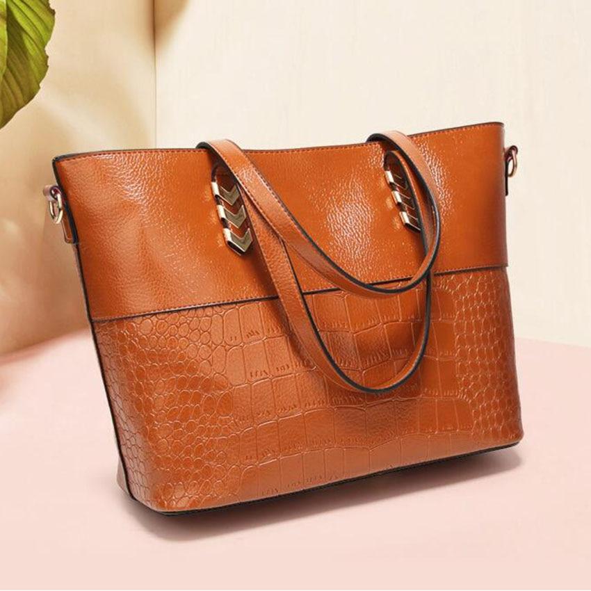 Luxury brand Large Leather Tote handbag For women Shoulder bag top-handle Office Shop hand bag bag Arrow hardware Design 6