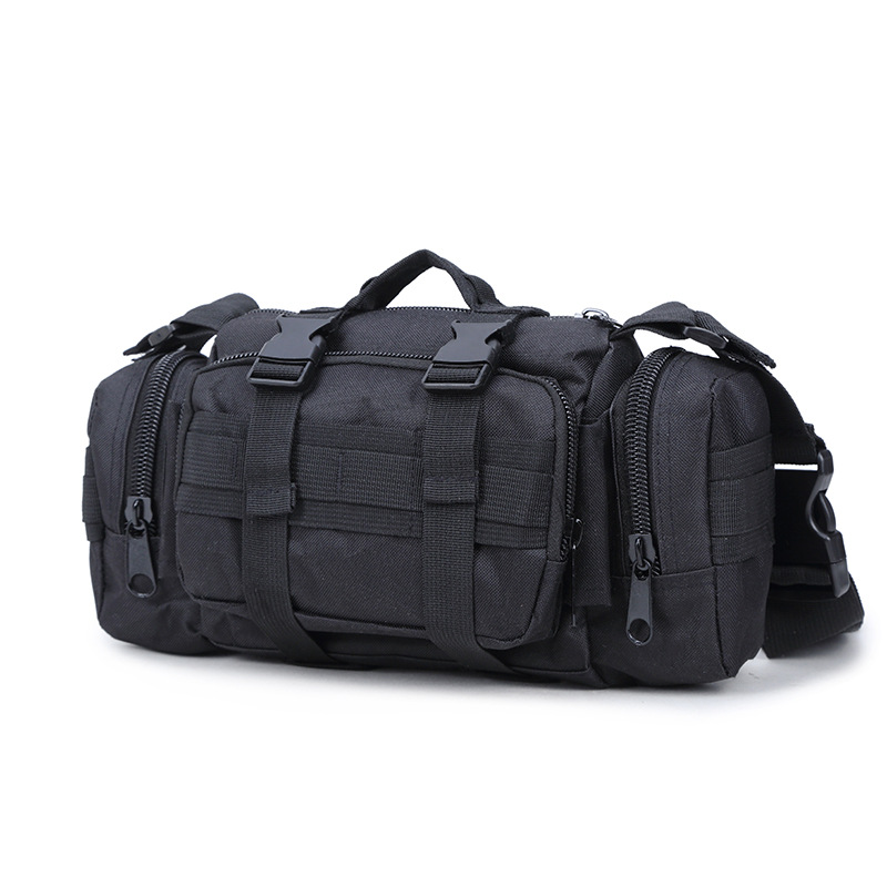 Quality Multi-Function Mens Tactical Bag Military Molle Bag Small Combat Waist Bag Shoulder Messenger Bag For Hunting Camping