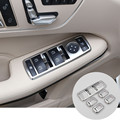 Inner Door Armrest Window Switch Cover Trim For Benz E Class W212 2010-2015 5pcs