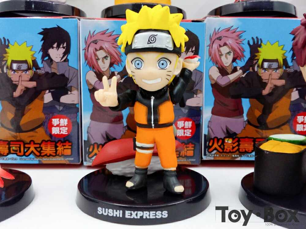 Anime Naruto Sushi Kakashi Sasuke Sakura Gaara Rock Lee Shikamaru Juguete De Dibujos Animados De Pvc Figura De Acción Modelo De Muñeca Regalo