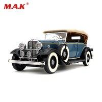 Коллекционная модель автомобиля 1/18 сплав литья под давлением 1932 Ford Lincoln классический КБ автомобиля подарки грузовик модель игрушки синий/к