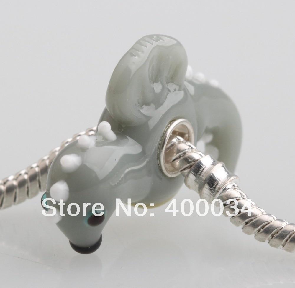 c6ad68d05de6 Dw136 hippocampu lampwork Cuentas para 3mm europea del encanto moda  Colgantes